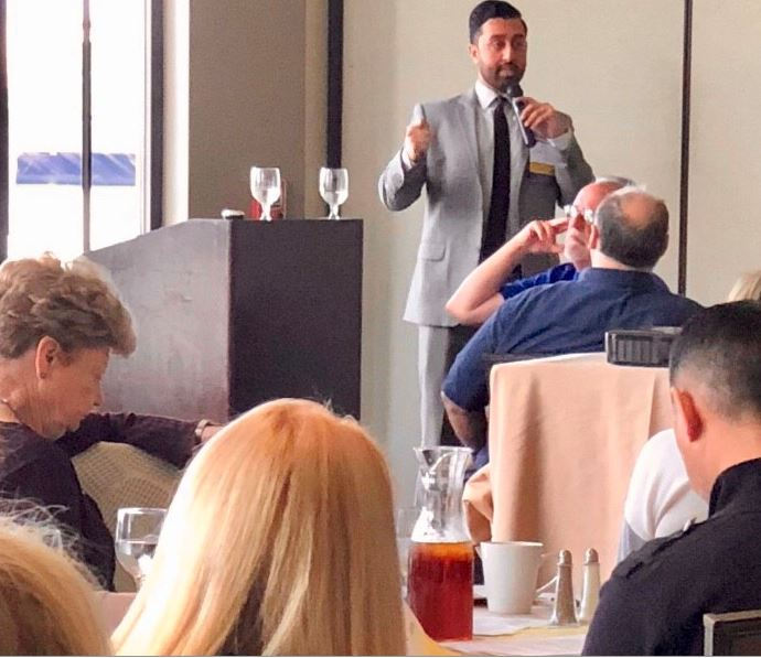 Attorney Alex Sohal presents to CAI BayCen Education Luncheon